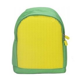 Рюкзак городской Upixel Junior зелено-желтый