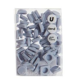 Пиксели Upixel Small серо-голубые