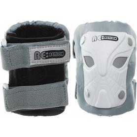 Фото 2 к товару Защита для катания детская (комплект) Reaction Kid's 3-Pack Protective Set бело-серебристая