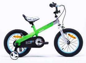"""Велосипед детский RoyalBaby Buttons Alu зеленый - 12"""""""