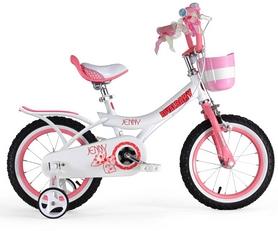 """Велосипед детский RoyalBaby Jenny Girls розовый - 14"""""""