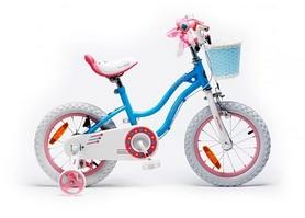"Велосипед детский RoyalBaby Star Girl синий - 16"""