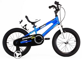 "Велосипед детский RoyalBaby Freestyle синий - 16"""