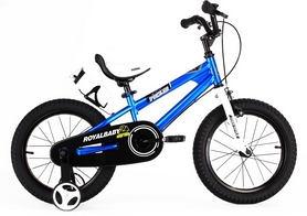"Велосипед детский RoyalBaby Freestyle синий - 14"""