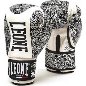Перчатки боксерские Leone Maori черные