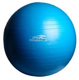Мяч для фитнеса (фитбол) PowerPlay 4001 75см голубой