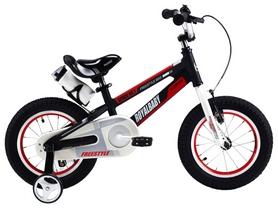 """Велосипед детский RoyalBaby Freestyle Space Alloy Alu 18"""", черный"""