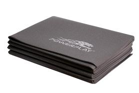 Коврик для йоги (йога-мат) складной PowerPlay 4012 4 мм grey