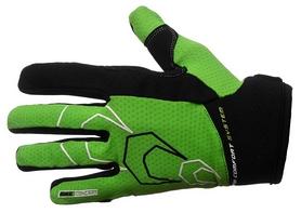 Перчатки велосипедные PowerPlay 6556 зеленые