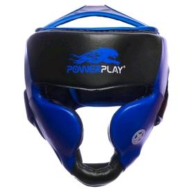 Шлем боксерский PowerPlay 3031 blue - L