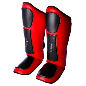Защита для ног (голень + стопа) PowerPlay 3032 red