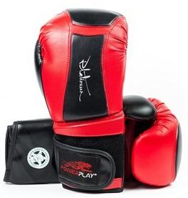 Перчатки боксерские PowerPlay 3020 красные