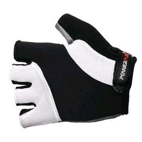 Перчатки велосипедные PowerPlay 5041 белые