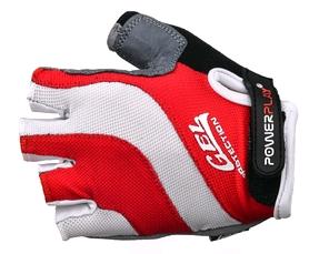 Перчатки велосипедные PowerPlay 5034 A красные