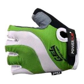 Перчатки велосипедные PowerPlay 5034 C зеленые