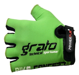 Перчатки велосипедные PowerPlay 5029 B зеленые