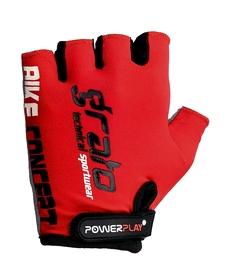 Перчатки велосипедные PowerPlay 5029 C красные