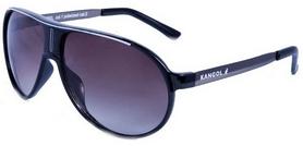 Очки солнцезащитные Kangol Rebel черные