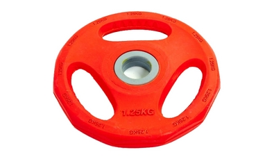 Диск обрезиненный 1,25 кг ZLT цветной - 30 мм