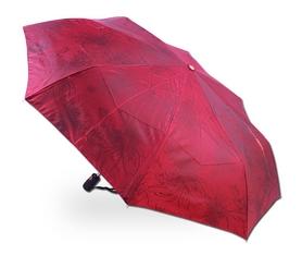 Зонт женский автомат Три слона 122-07 красный