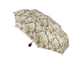 Зонт женский автомат Три слона 127-04 белый