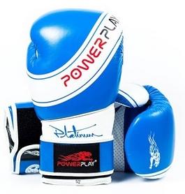 Перчатки боксерские PowerPlay 3023 синие