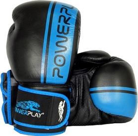 Перчатки боксерские PowerPlay 3022 голубые