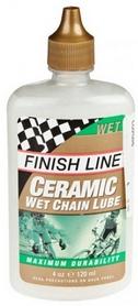 Смазка для цепи керамическая Finish Line Wet Lube LUB-13-45 120 мл