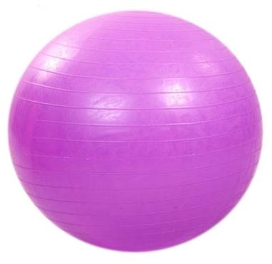 Мяч для фитнеса (фитбол) 75 см HMS фиолетовый