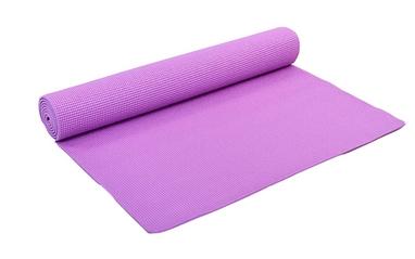 Коврик для фитнеса Pro Supra Yoga Mat фиолетовый 4 мм