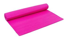 Коврик для фитнеса Pro Supra Yoga Mat розовый 4 мм