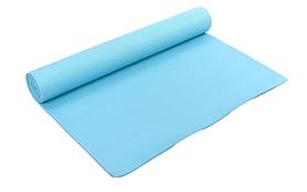 Коврик для фитнеса Pro Supra Yoga Mat голубой 4 мм