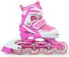 Коньки роликовые раздвижные Maraton M-11 розовые - фото 1