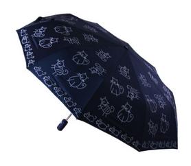 Зонт женский автомат AVK L3FA59SA-10-02 черный
