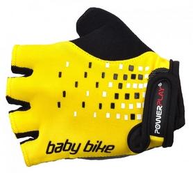 Велоперчатки детские PowerPlay 5451 желтые