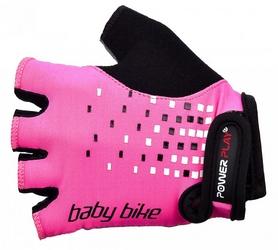 Велоперчатки детские PowerPlay 5451 розовые