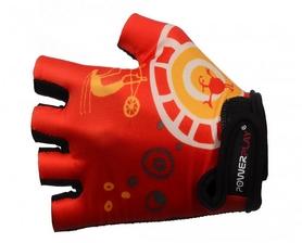 Велоперчатки детские PowerPlay 001 красные