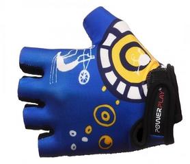 Велоперчатки детские PowerPlay 001 синие
