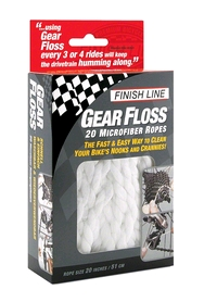 Нить для чистки велосипеда Finish Line Gear Floss TOO-01-00