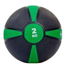 Мяч медицинский (медбол) ZLT FI-5122-2 2 кг зеленый