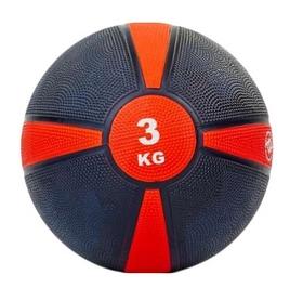 Мяч медицинский (медбол) ZLT FI-5122-3 3 кг красный
