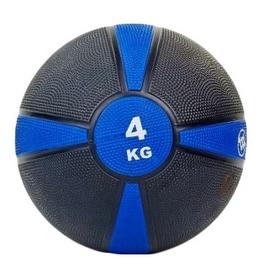 Мяч медицинский (медбол) ZLT FI-5122-4 4 кг синий