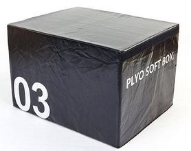 Бокс плиометрический мягкий Pro Supra Soft Plyometric Bоxes черный