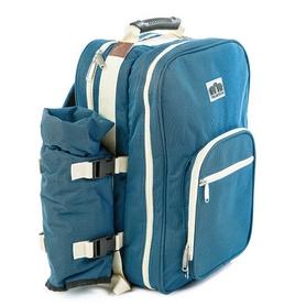 Фото 2 к товару Набор для пикника на 4 персоны СRT124 синий