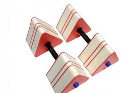Гантели для аквааэробики треугольные Onhillsport PLV-2406