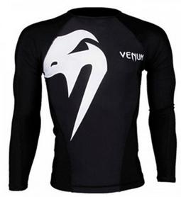 Рашгард Venum Replika VR24 L/S черный