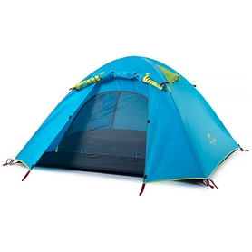 Палатка четырехместная Naturehike P-Series IV NH15Z003-P синяя
