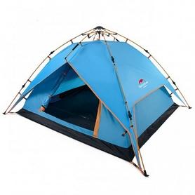 Палатка четырехместная Naturehike Automatic NH15Z016-P синяя