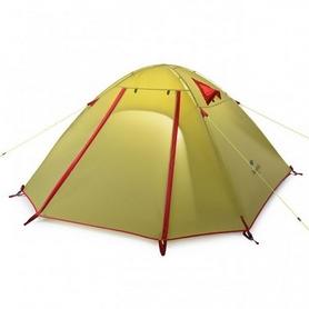 Палатка двухместная Naturehike P-Series II 210T polyester NH15Z003-P зеленая