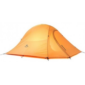 Палатка двухместная Naturehike Cloud UP II 210T polyester NH15T002-T оранжевая